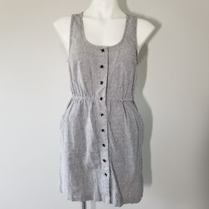 Heritage 1981 Railroad Stripes Chambray Dress